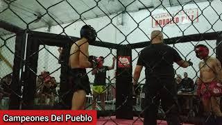 🥊Nahuel Fernández Vs Marcos Reyes - KICK BOXING - AMATEUR - Campeones Del Pueblo - Siempre Humilde