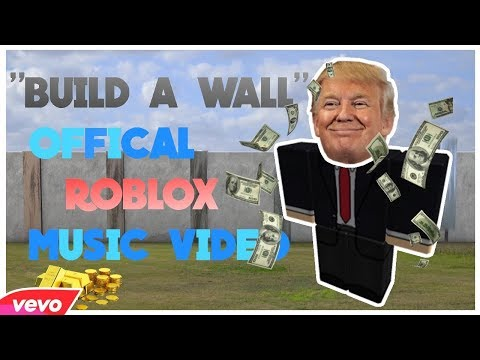 """""""Build A Wall"""" Official Roblox Music Video Feat. Ben Doge"""