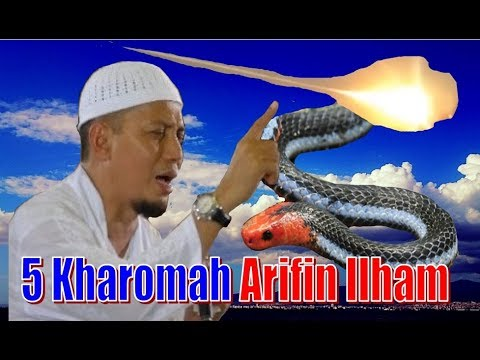 Kisah Nyata 5 Kharomah Ustad Arifin Ilham, Cahaya Diatas Rumah & Selamat dari Ular Berbisa