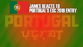 "JAMES REACTS TO ""TELEMÓVEIS"" by CONAN OSÍRIS - PORTUGAL ESC 2019 (EP#13) thumbnail"