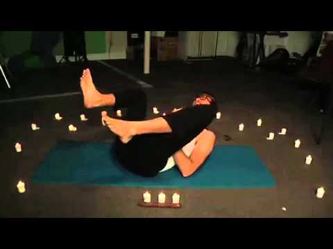 Rhett's yoga outtake!