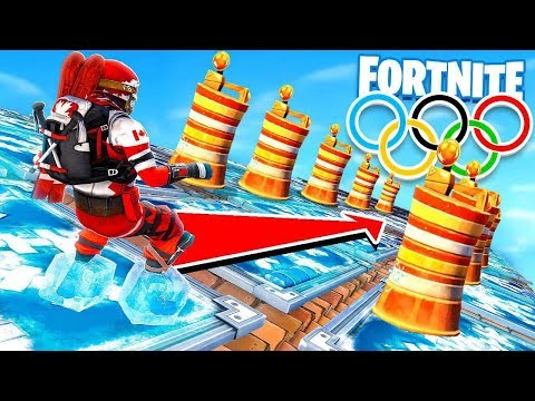 Freeze Trap Winter Olympics!? *NEW* Game Mode! in FORTNITE!