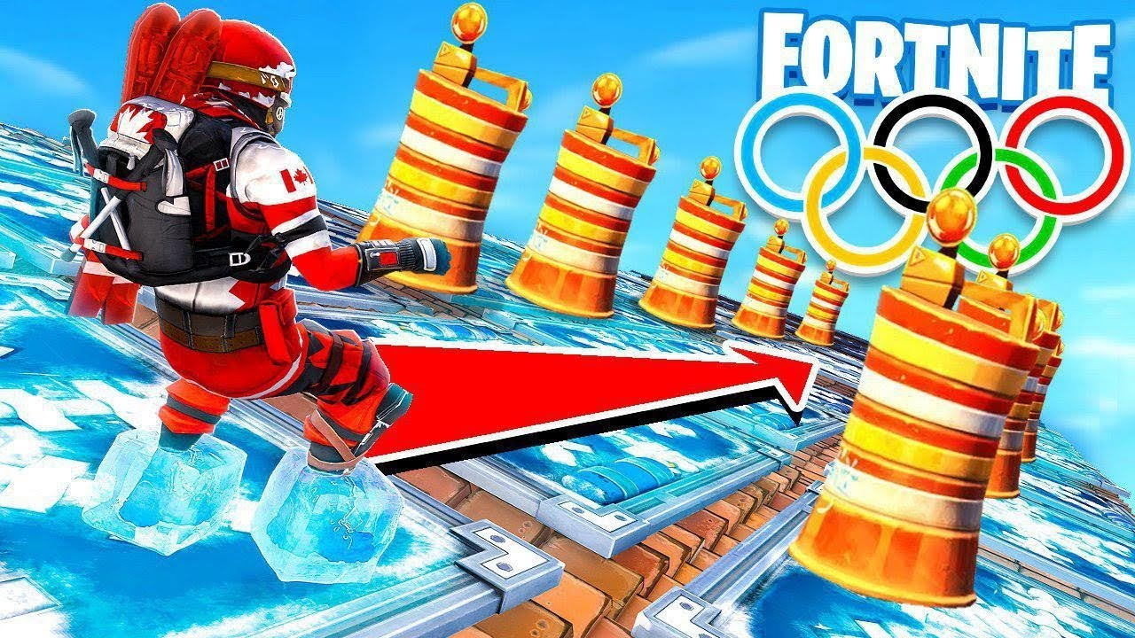 *NEW* WINTER OLYMPICS CHILLER TRAP Game Modes in Fortnite ...