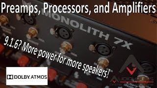 CES 2018 Recap: Best Atmos/DTS:X AV Receivers and Processors