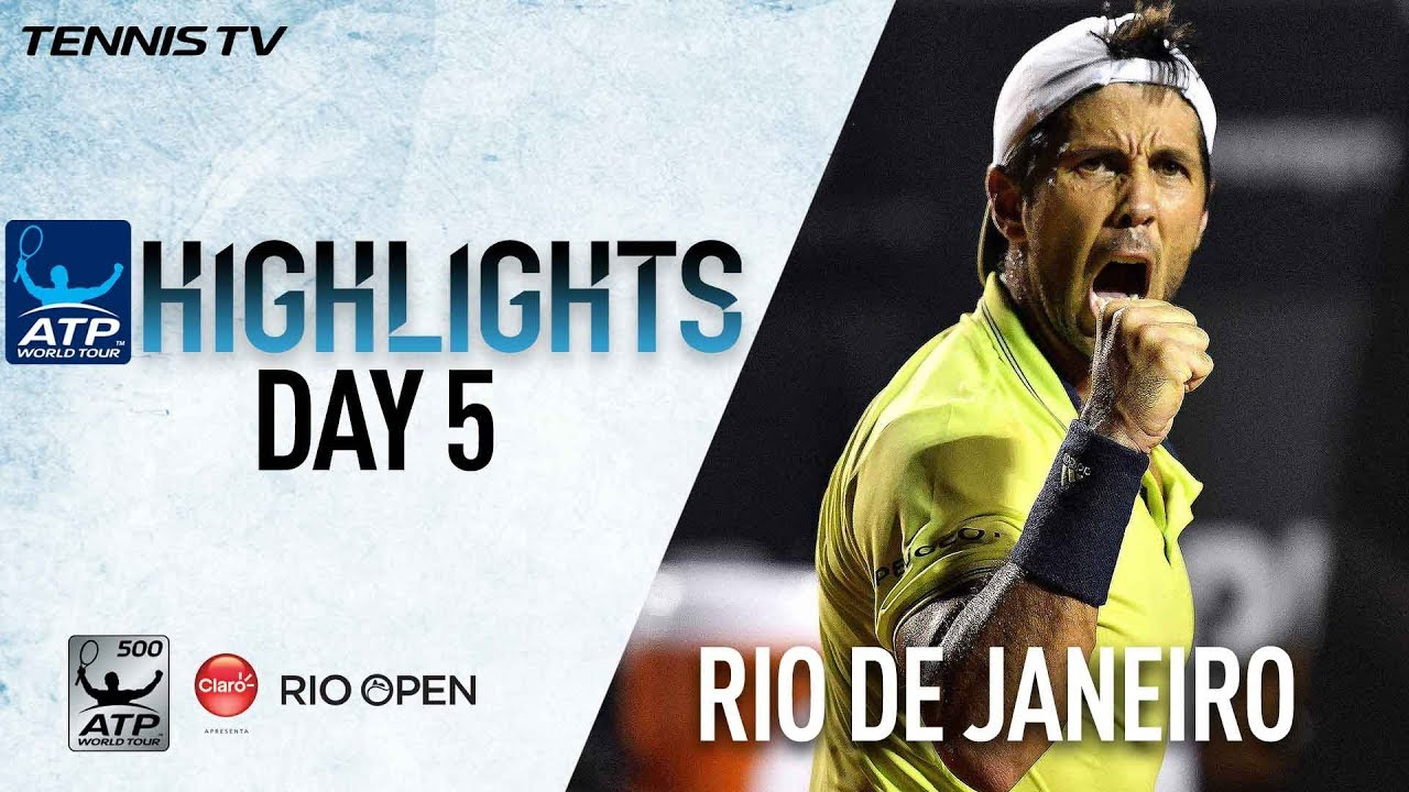 Highlights: Verdasco Shocks Defending Champion Thiem In Rio #1