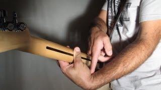 Position du poignet - douleurs au poignet à la guitare avec zamzam