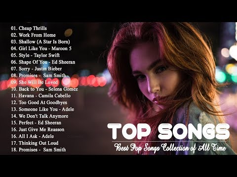 Best English Songs 2019 Hits | Best Pop Songs Collection of All Time | Pop Songs World 2019