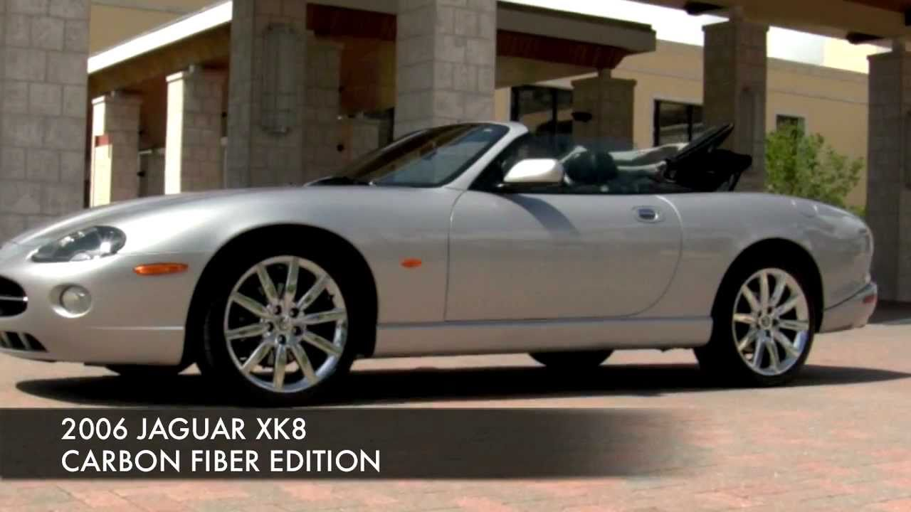 2006 jaguar xk8 convertible carbon fiber edition community auto sales palm beach youtube. Black Bedroom Furniture Sets. Home Design Ideas
