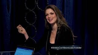 Shirley con Veronica Schneider