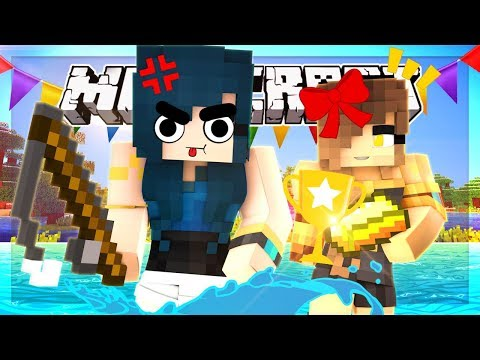 THIS GAME IS TO SAVAGE FOR ME!! FISHING FOR GOLD! | Minecraft Custom Mini-game