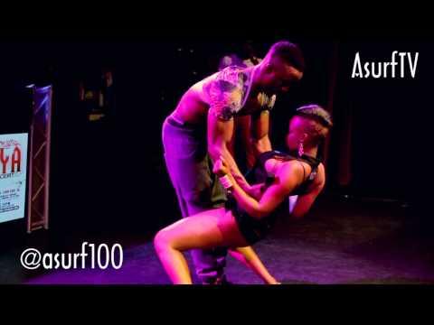 Samanta Goes Gaga at Iyanya Kukere Concert (AsurfTV)