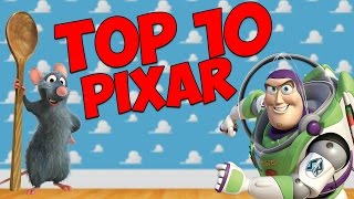 TOP 10 des PIXAR DISNEY