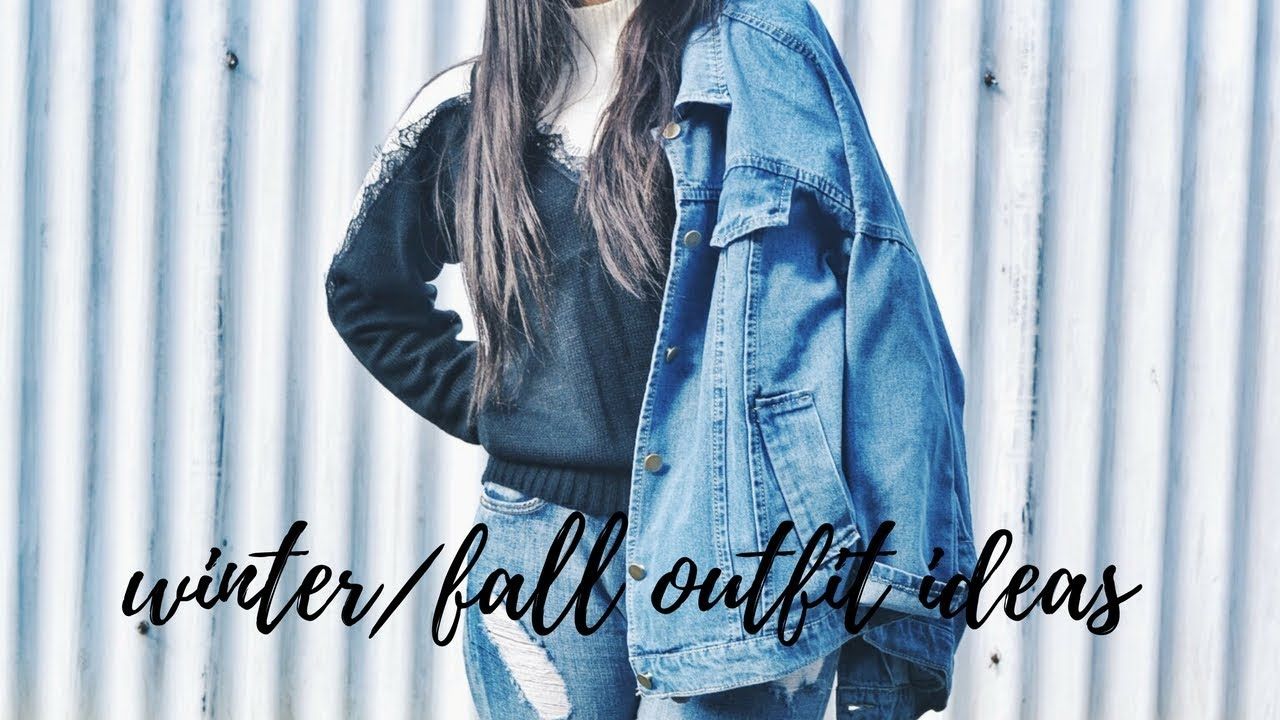 [VIDEO] - Winter/Fall outfit ides | LOOKBOOK 2017 2