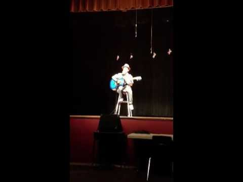 Jacob at Central Elementary Talent Show 2013 - evening performance