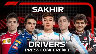 2020 Sakhir Grand Prix: Press Conference Highlights