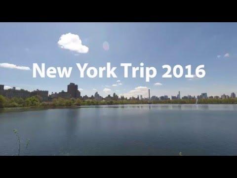 New York Trip 2016 | GoPro Hero 4 | 1080p HD