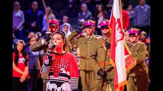 """Mazurek Dąbrowskiego na meczu NBA G, czyli """"Polska Noc"""" z Windy City Bulls"""