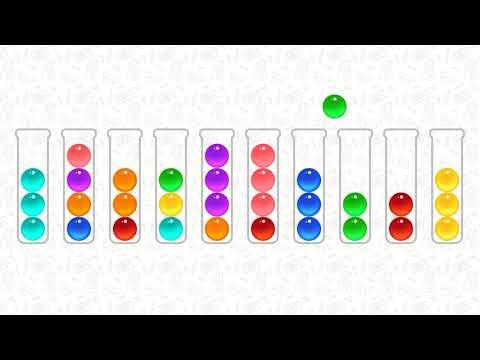 パズル ボール 107 ソート 「Ball Sort