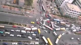 中国の渋滞wwww