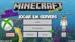 COMO JOGAR EM SERVIDORES SEM XBOX LIVE COM O MCPE PIRATA - MINECRAFT PE 1.12.0.11/1.11.0