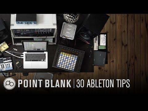Ableton  9 Tutorial: 30 QuickFire Tips