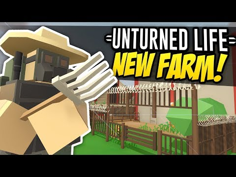 NEW FARM - Unturned Life Roleplay #323