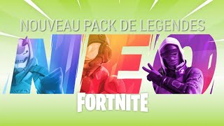 "FORTNITE: NEW: ""PACK OF LEGENDIES"" arrives with update 9.20"