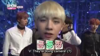 Download Video [ENG SUB] BTS- Showchampion backstage 161025 MP3 3GP MP4