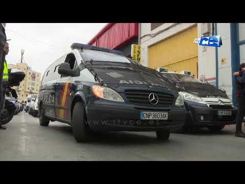 JUPOL denuncia el mal estado de los vehículos de la Policía Nacional
