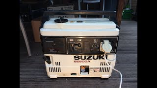 Suzuki SE800A generator aggregraat