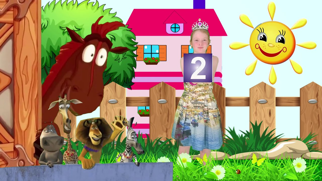 Видео для малышей. Учим цвета и цифры - YouTube
