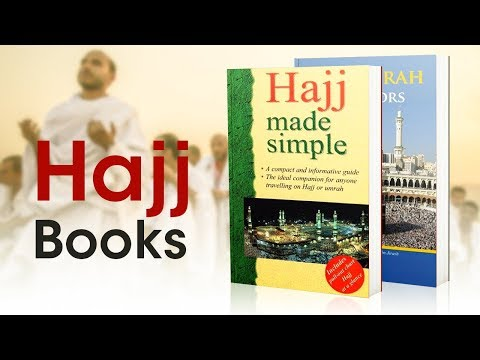 5 Hajj Books Selections