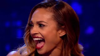 Alesha Dixon - Funny Moments