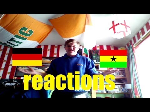 Jimbob's reactions to the Germany vs Ghana world cup match (Vlog)