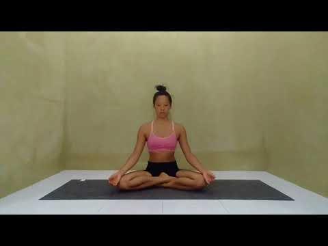 The Yoga workshop Siddhasana Perfect Pose Technique