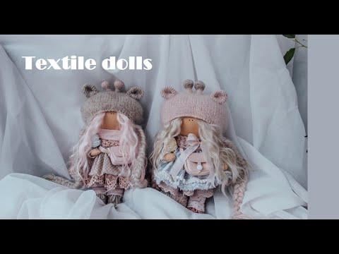 TEXTILE DOLLS \ Показываю кукол \ лотерея в группе вк