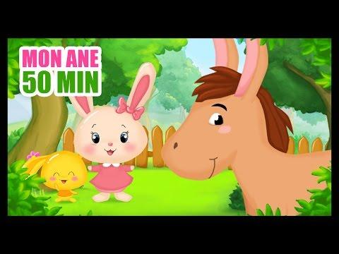 Mon âne  Comptines Titounis pour les ents  Monde des petits