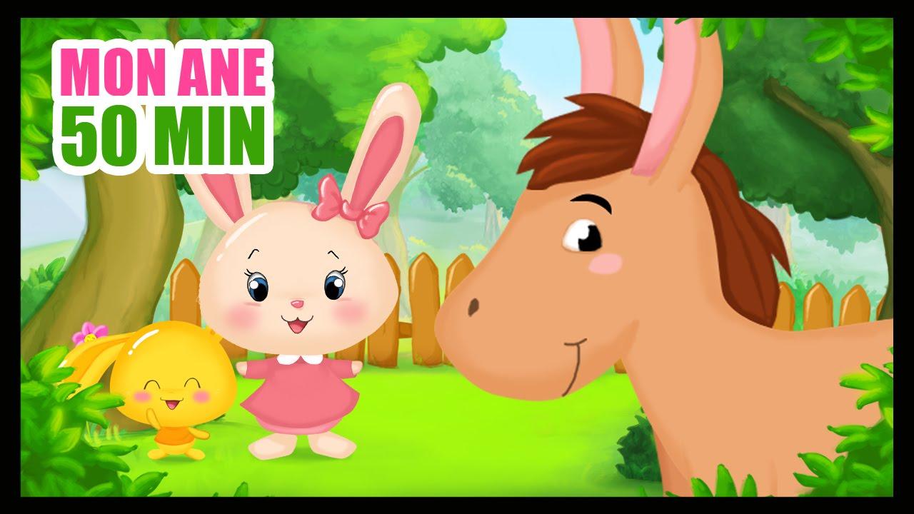 Mon âne - Comptines Titounis pour les enfants - Monde des