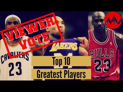 Greatest NBA Players of All Time (Viewer Vote!)