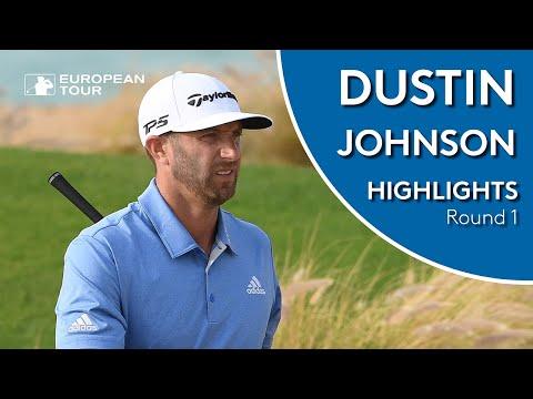 Dustin Johnson Highlights | Round 1 | 2019 Saudi International