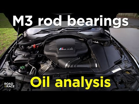 Rod bearing failure oil analysis detection in BMW M3 E92 (S65) | Road & Race S03E15