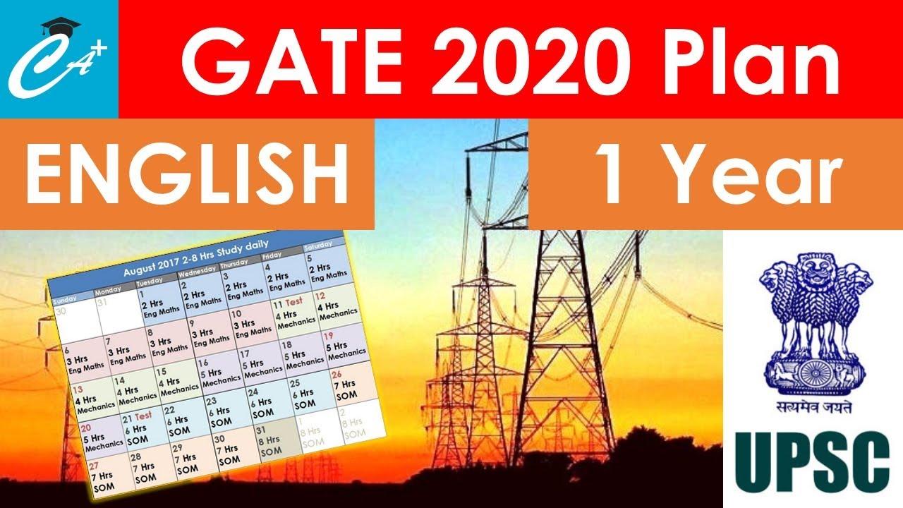 medium resolution of electrical engineering preparation plan for gate 2020 batman plan 6