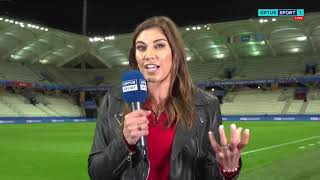 Hope Solo explains her comments on #USA coach Jill Ellis.