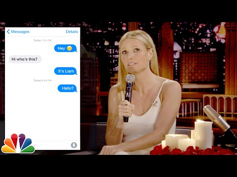 Thumbnail: First Textual Experience with Gwyneth Paltrow
