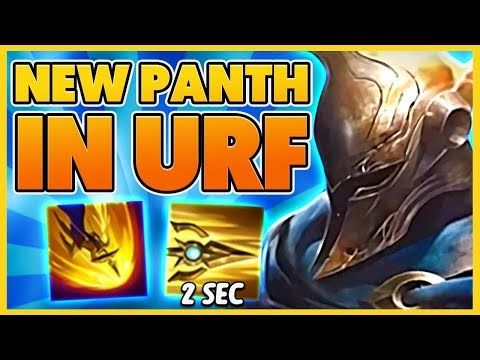 *29 KILLS* REWORKED PANTHEON BROKE URF (PERMA STUNS) - BunnyFuFuu