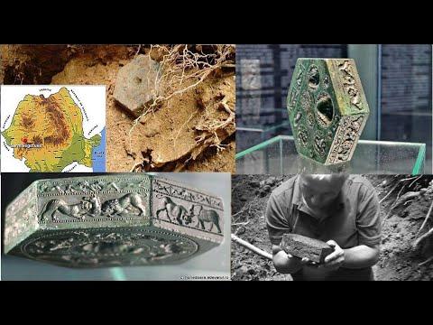 Unique 2,000-Year-Old Hexagonal-Shaped Bronze Matrix Of Sarmizegetusa