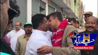 Akbar owaisi Election Campaign in Final Phase in Chandrayangutta