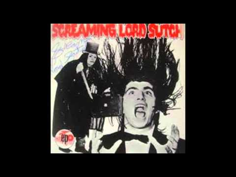 Screaming Lord Sutch - All black & Hairy (1966) .