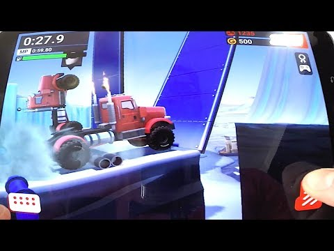Game MMX Hill Dash Fase na Neve - Estilo Hot Wheels Race Off