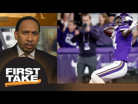 Stephen A. Smith on Vikings' winning touchdown: I've never seen anything like it | First Take | ESPN